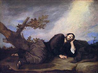 Der Traum Jakobs - Jusepe de Ribera (1639)