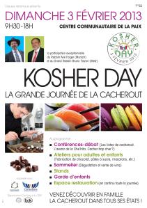 20130203 - Kosher Day Strasbourg - avec Rabbin Folger