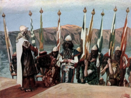 Tissot_Moses_Blesses_Joshua_Before_the_High_Priest