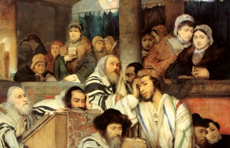 gottlieb-jews_praying_in_the_synagogue_on_yom_kippur-cropped