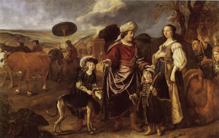isaac-and-rebecca-with-jacob-and-esau-jan-victors-1652