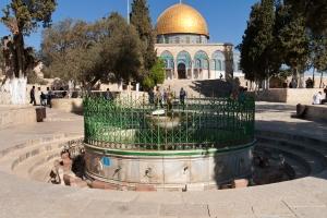 Der Tempelberg - die heiligste Stätte auf Erden für das Judentum