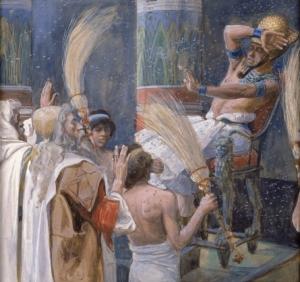 Die Plage der Fliege (ca. 1896-1902) ─ James Jacques Joseph Tissot