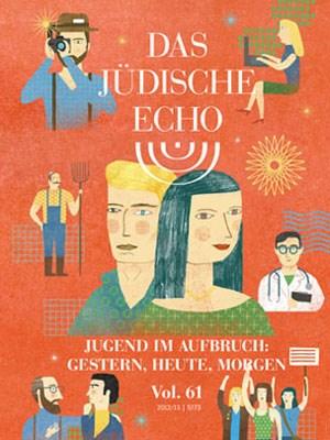 Das jüdische Echo - Vol68 Cover