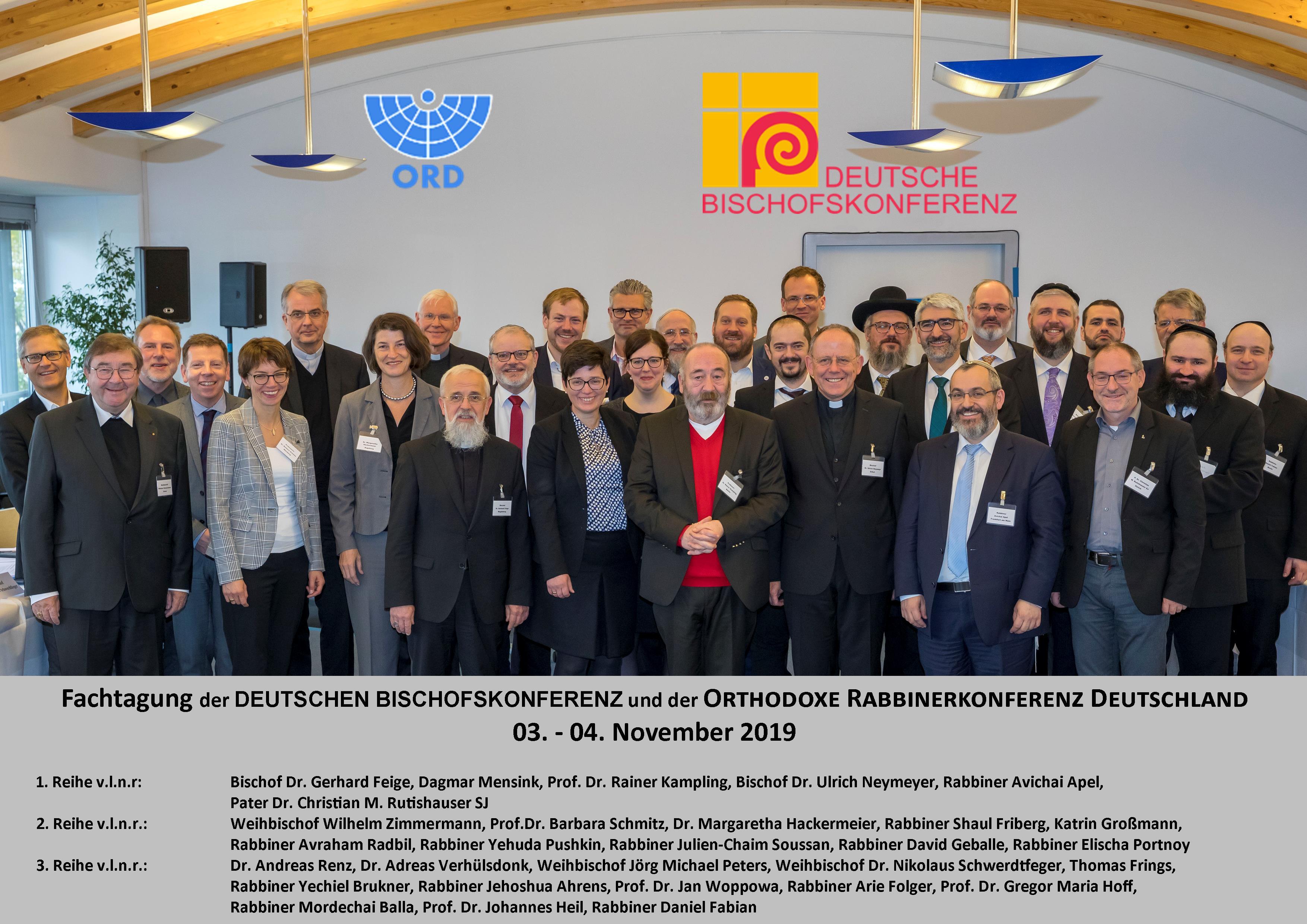 20191104 - Fachkonferenz DBK und ORD Gruppenbild